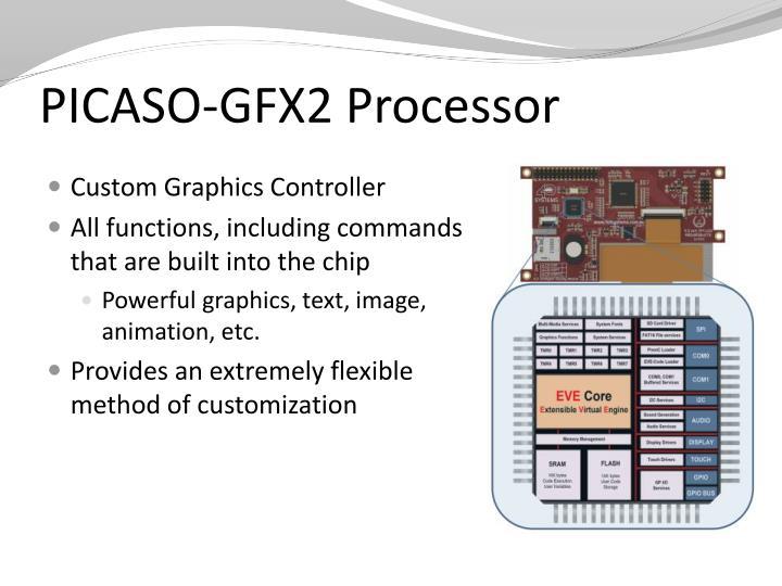 PICASO-GFX2 Processor