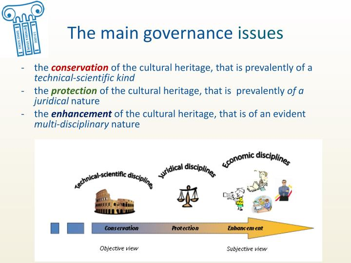 The main governance