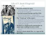 life of f scott fitzgerald1