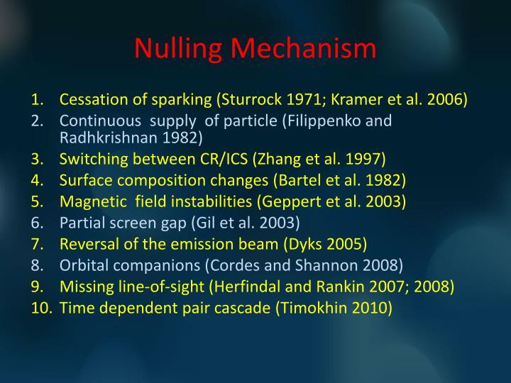 Nulling