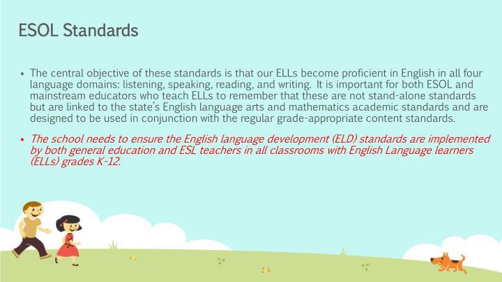 ESOL Standards