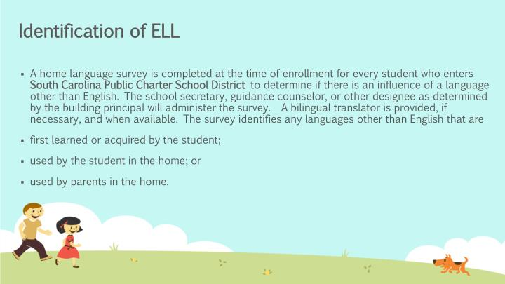 Identification of ELL