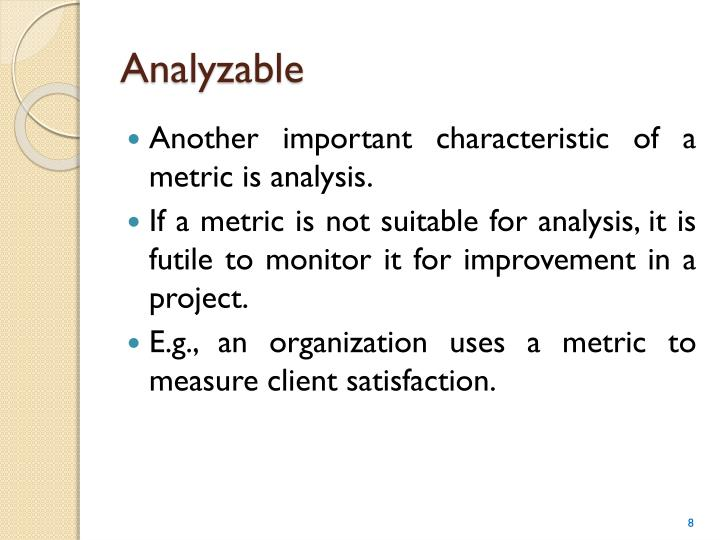 Analyzable