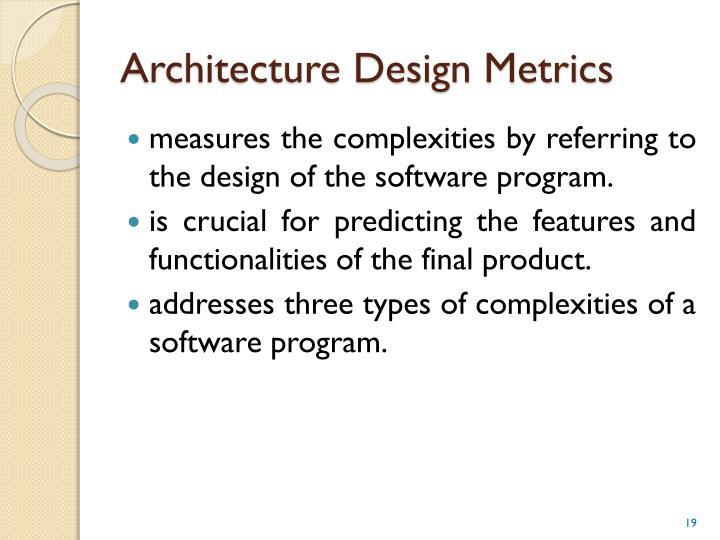 Architecture Design Metrics