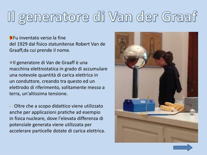 Il generatore di Van
