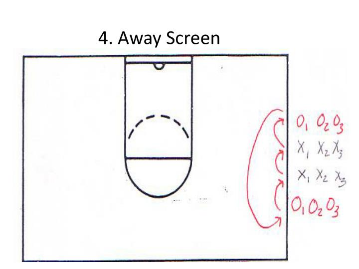 4. Away Screen