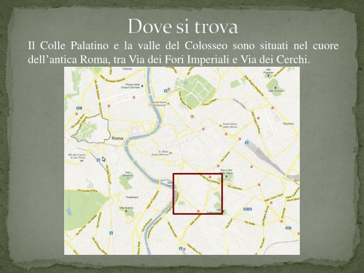 Ppt Il Palatino E La Valle Del Colosseo Powerpoint