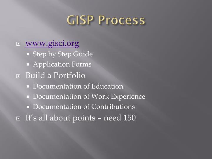 GISP Process