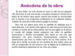 an cdota de la obra
