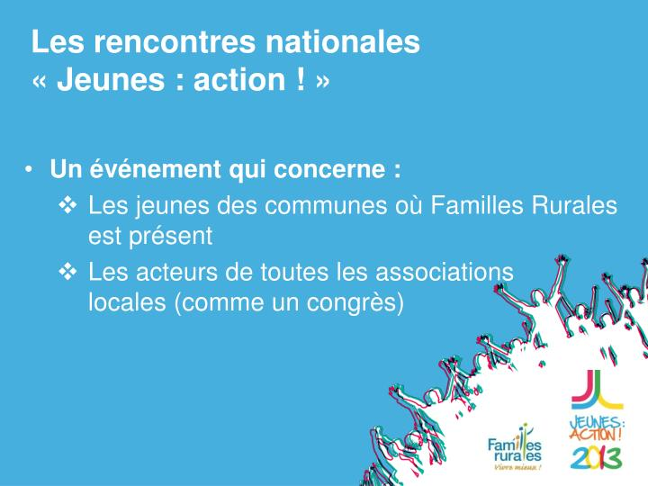 Les rencontres nationales