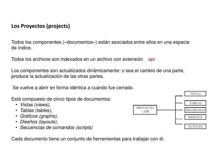 Los Proyectos (
