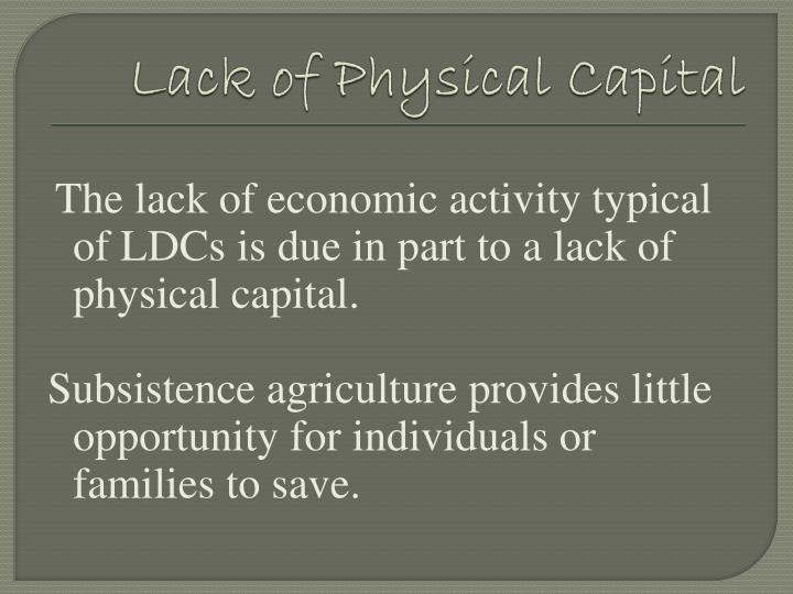 globalization capitalism and human physical well being The negative effects of globalization on south and a human physical wellbeing of societies economy is part of the globalising tendencies of capitalism.