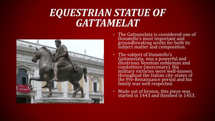 Equestrian statue of