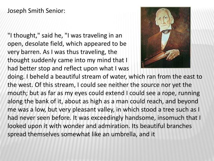 Joseph Smith Senior: