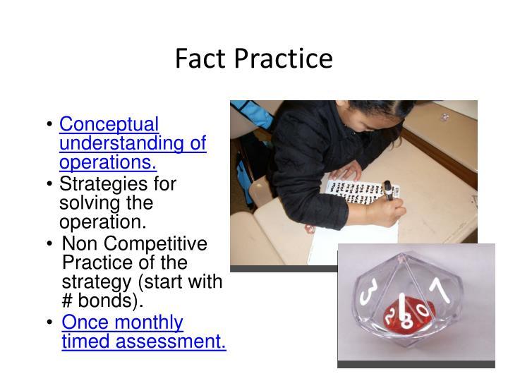 Fact Practice