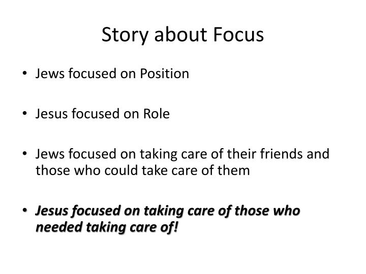 Story about Focus