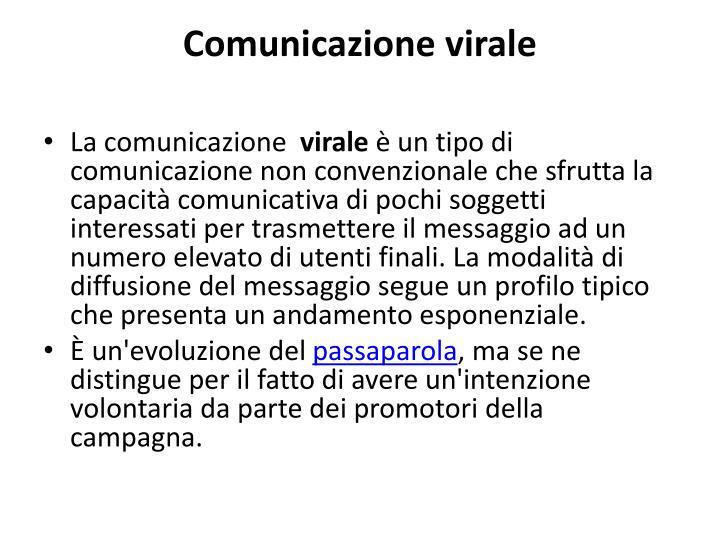 Comunicazione virale
