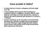 cosa accade in italia