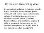 un esempio di marketing virale