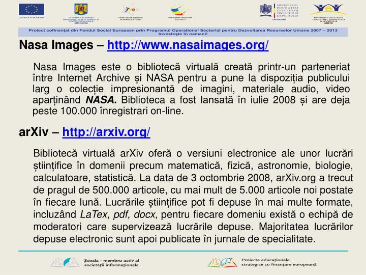 Nasa Images –