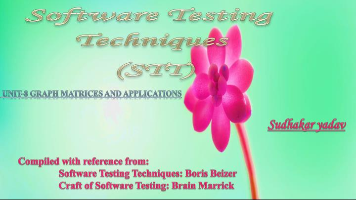 Software Testing and Quality Assurance - ppt download