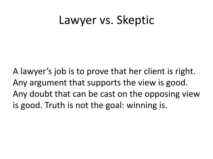 Lawyer vs.