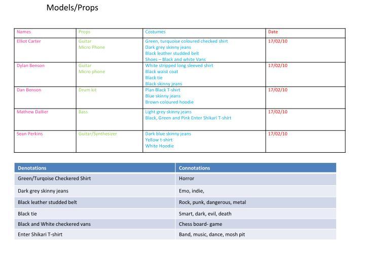 Models/Props