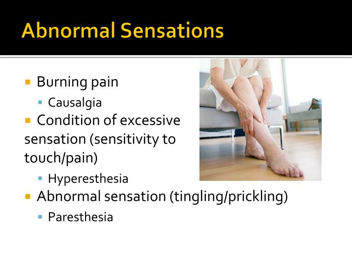 Abnormal Sensations