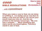 good bible resolutions4