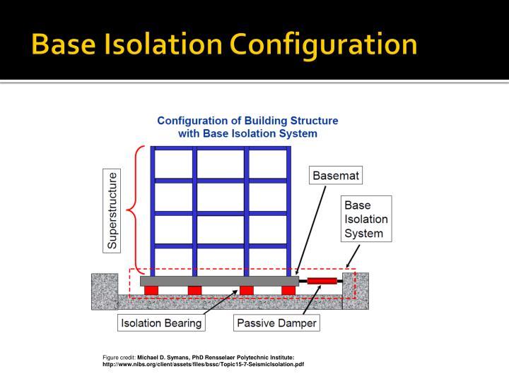 Base Isolation Configuration