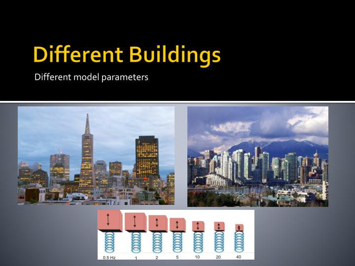 Different Buildings