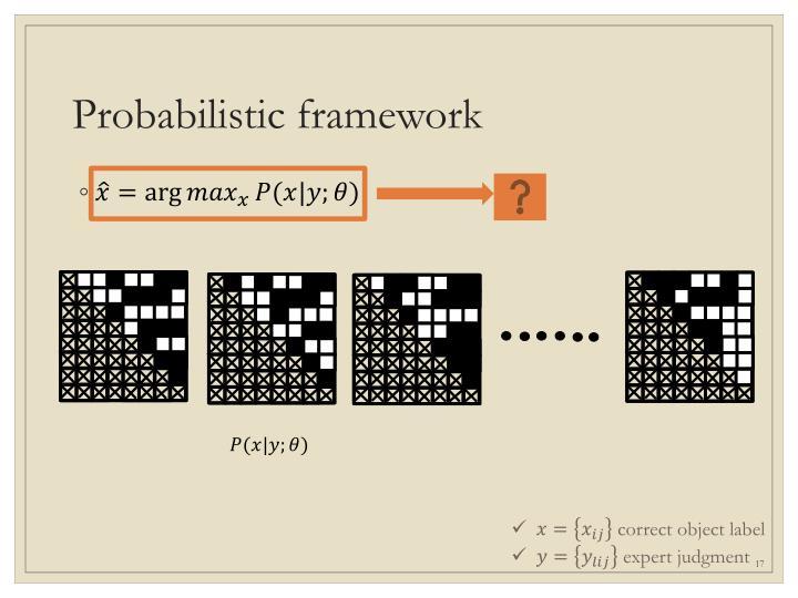 Probabilistic framework
