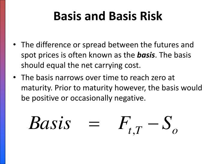 Basis and Basis Risk