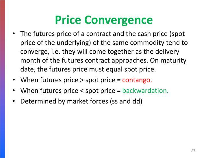 Price Convergence