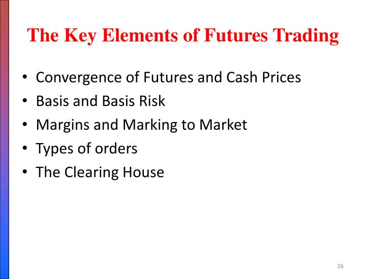 The Key Elements of Futures Trading