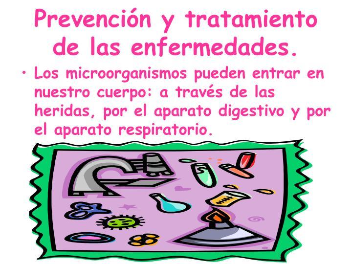 Prevención y tratamiento de las enfermedades.