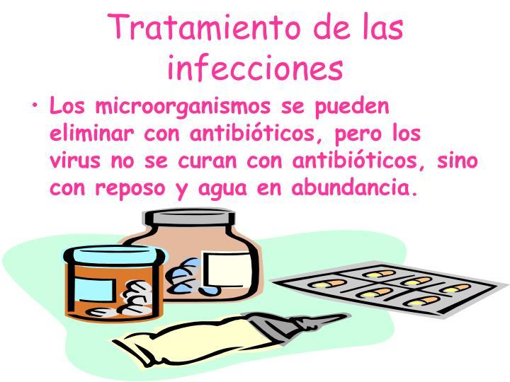 Tratamiento de las infecciones