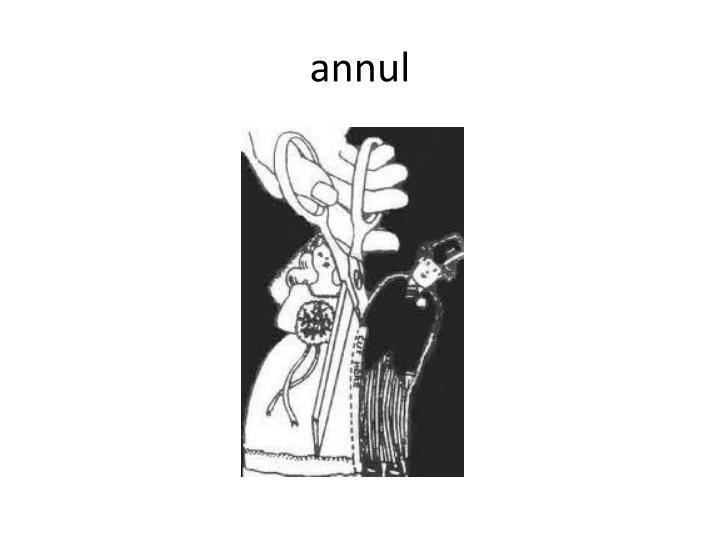 annul