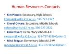 human resources contacts1