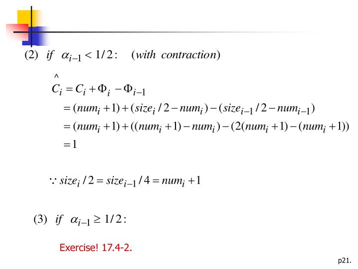 Exercise! 17.4-2.
