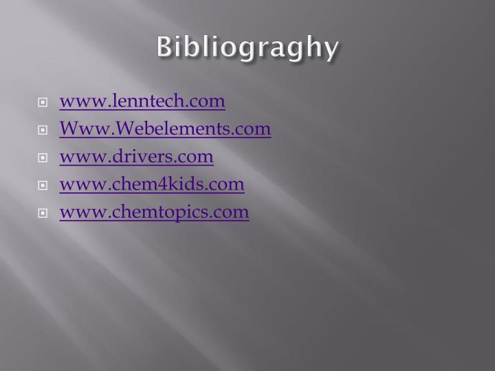 Bibliograghy