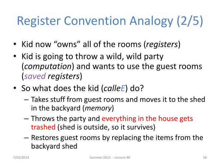 Register Convention Analogy (2/5)