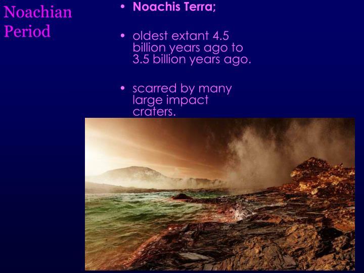 Noachian Period