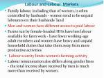 labour and l abour markets