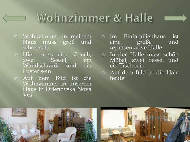 Wohnzimmer & Halle