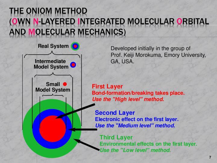 The ONIOM Method