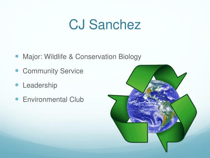CJ Sanchez