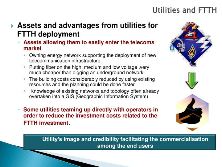 Utilities and FTTH