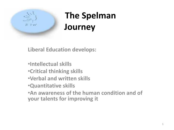 The spelman journey