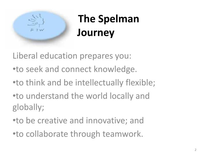 The spelman journey1